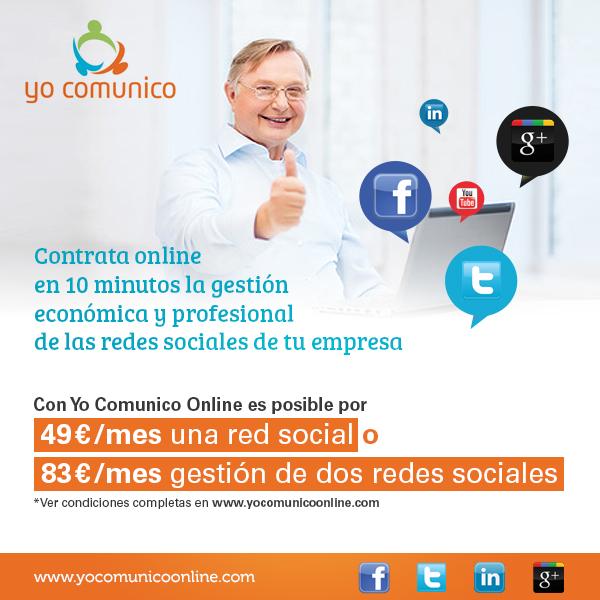 Contrata online redes sociales para tu negocio