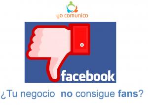 Consigue fans en Facebook para tu negocio