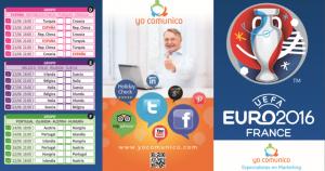 Calendario empresa Eurocopa